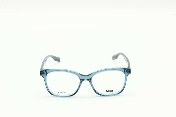 Mcq -Alexander McQueen MQ0304O - 003 blue blue transparent