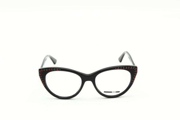 Mcq -Alexander McQueen MQ0153O - 001 black black transparent