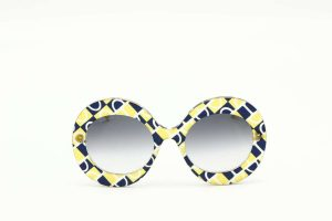 Gucci GG0894S - 001 yellow gold blue
