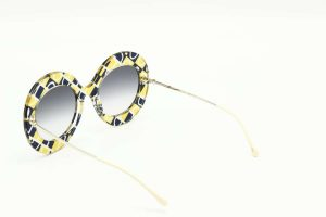 Gucci GG0894S - 001 yellow gold blue 1